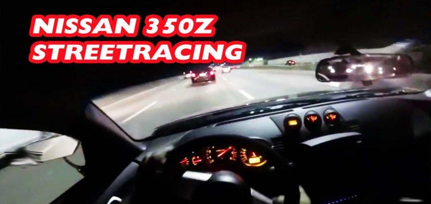 Nissan 350z Street Racing