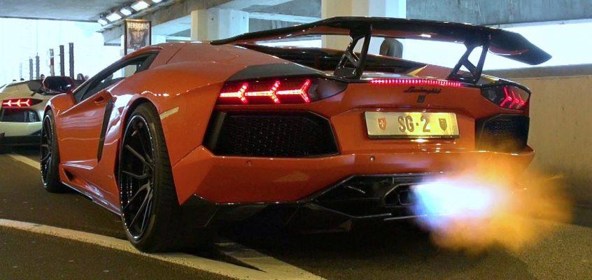 DMC Lamborghini Aventador In Monaco