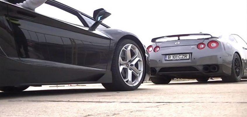 Lamborghini Gallardo Vs Nissan GTR