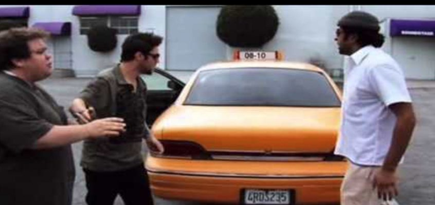 Terrorist Taxi Prank