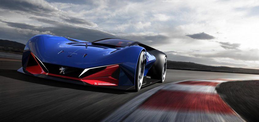 Peugeot's 500bhp Indy 500 Concept