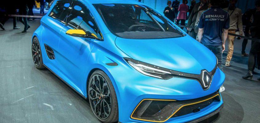 The Renault Zoe e-sport Concept