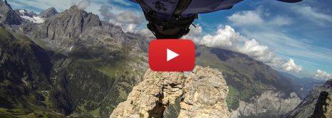 WingSuit Flight Through A 2 Meter Cave