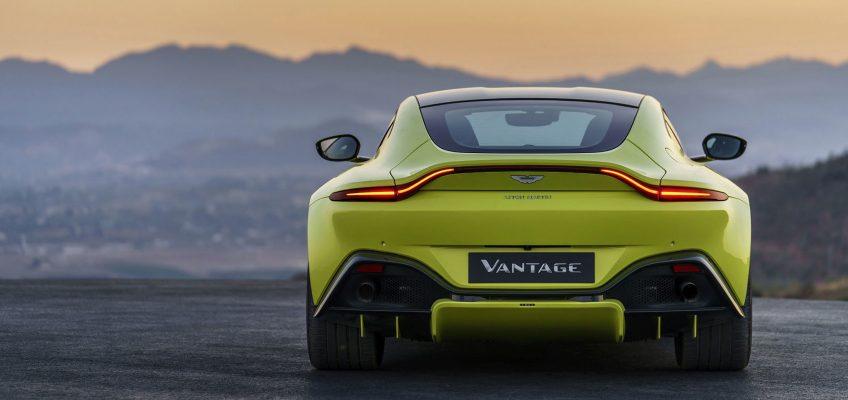 FIRST LOOK At The 2018 Aston Martin Vantage